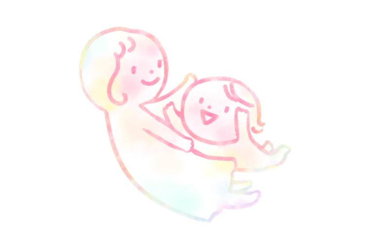 ママと子供 親子