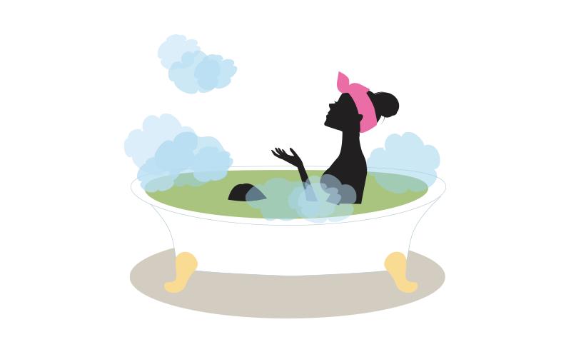よもぎ風呂 凛